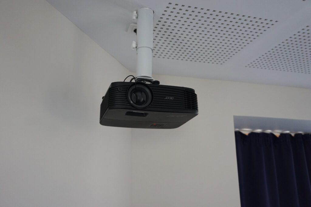 Installation vidéo projecteur